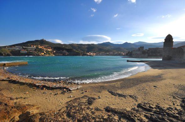 La baie de Collioure