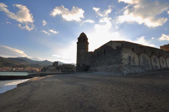 contrejour Collioure