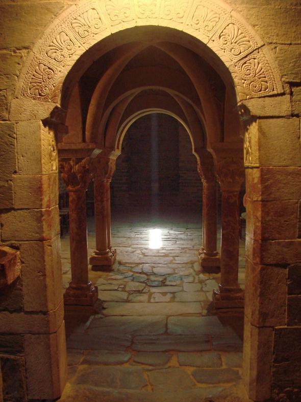 Rayon de lumière dans le prieuré