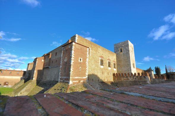 L'angle nord-ouest du palais