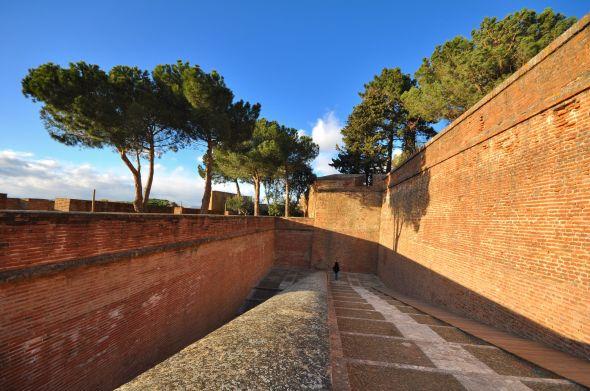 L'accès à la citadelle