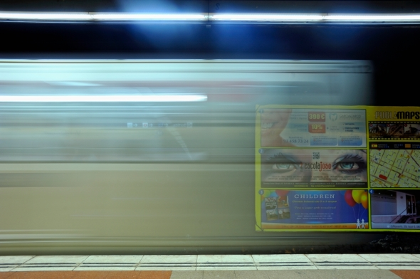 Quand t'es dans le métro... (Barcelone)