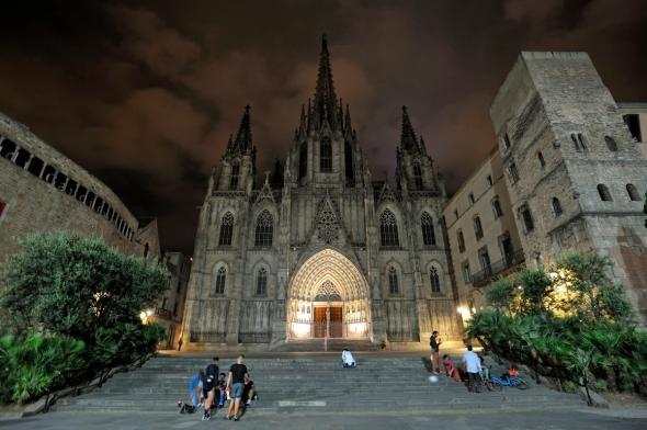 Cathédrale Barcelone