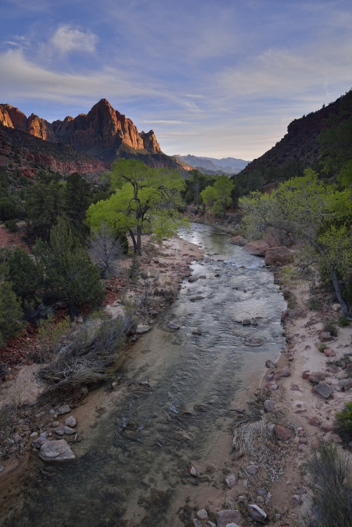 Zion national park d clic en stock - Heure du coucher de soleil aujourd hui ...