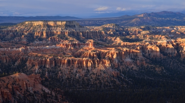 Bryce Canyon Sunset - Gorgeous light