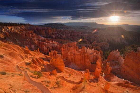 Bryce Canyon sunrise lever du soleil