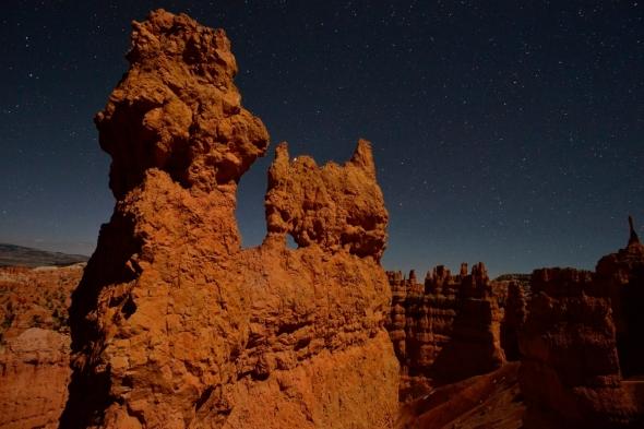 Bryce Canyon Stars at night