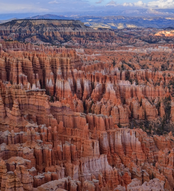 Bryce Canyon dans l'ombre