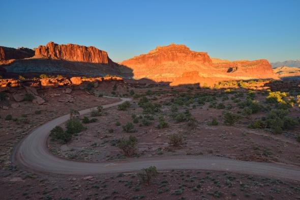 Capitol Reef sunset Utah