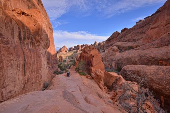 Arches national Park - Devil's Garden - rock fins 1