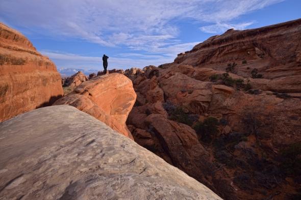 Arches national park - Devil's Garden - rock fins 3
