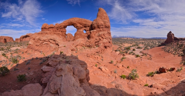 Arches nationla park - Turret Arch panorama