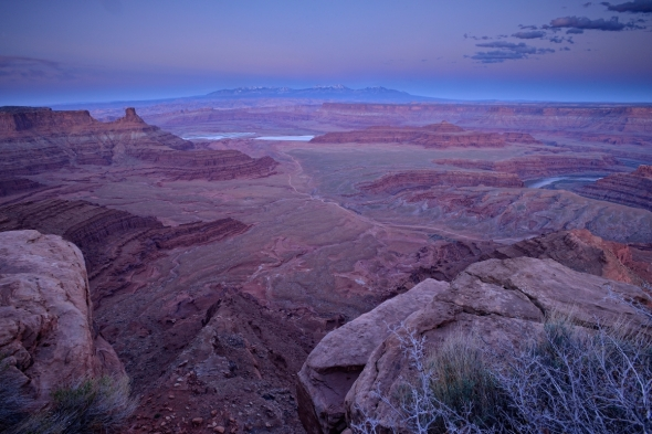 Dead Horse Point after Sunset 2