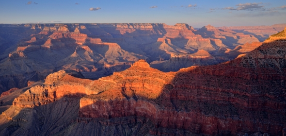 Grand Canyon panorama sunset Janet MOLINS