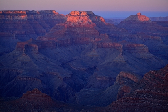 Last sunset in Grand Canyon