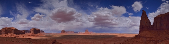 Panoramas Monument Valley X2
