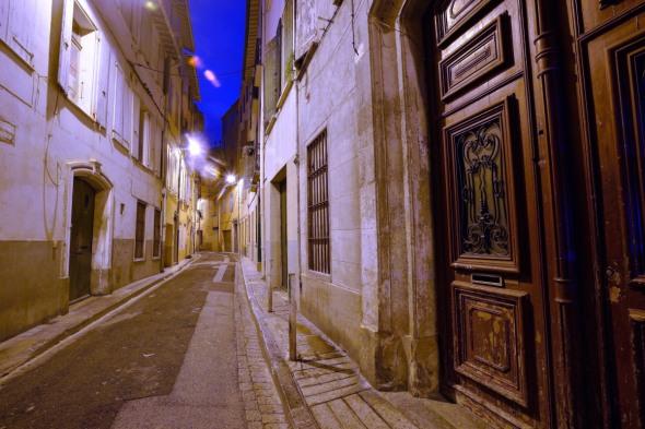 Vieux Perpignan rue Foy