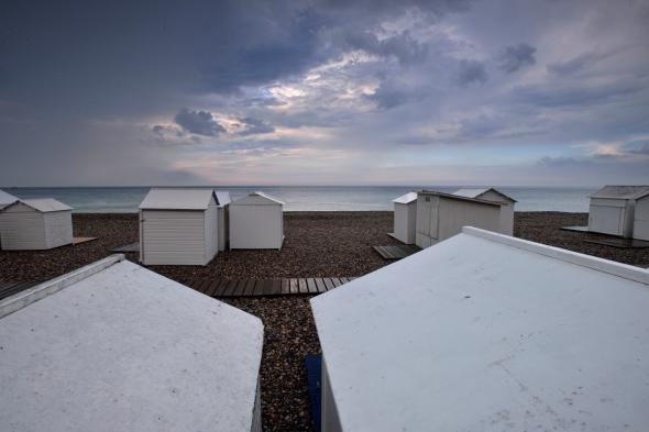Cabines de plage Mers-les-Bains