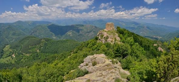 Panorama Tours de Cabrens Serralongue Lamanère