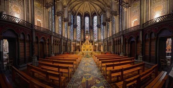 Lille Notre-Dame-de-la-Treille Sainte-Chapelle Janet Molins photo