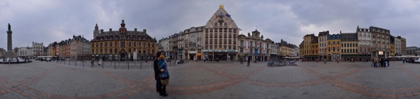 Panorama Grand Place Lille