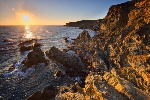 Lever de soleil Banyuls Cap de l'Abeille Janet Molins