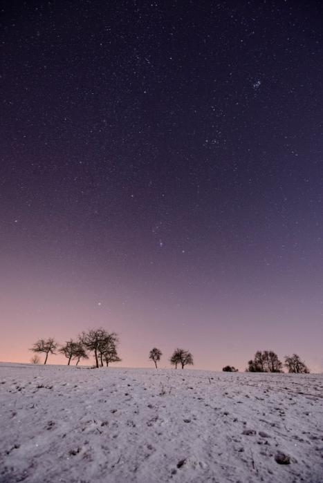 Ciel d'Alsace étoilé