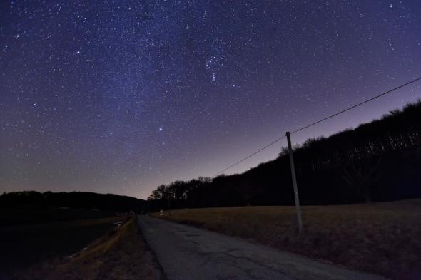 Ciel étoilé dans la Drôme