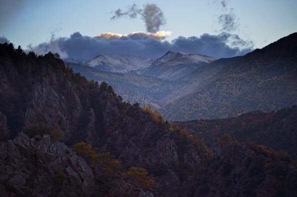 Col de Mantet Pic de la Dona Serre de Bassibes Pic de Serra gallinera