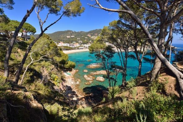 De Llafranc à Calella de Palafrugell par le sentier côtier