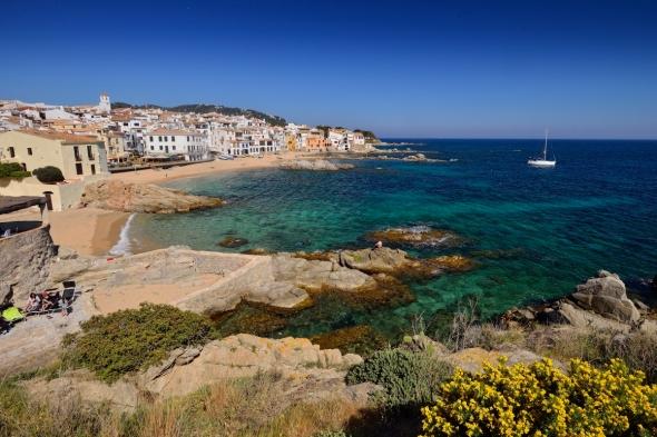 Calella de Palafrugell les plages et les maisons de bord de mer