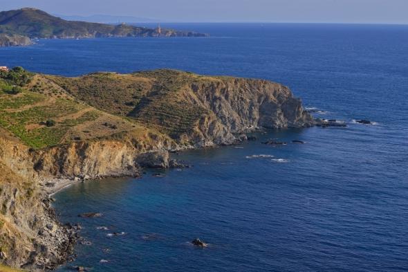 Côte vermeille - Cap Rédéris Cap l'Abeille Cap Béar Corbières