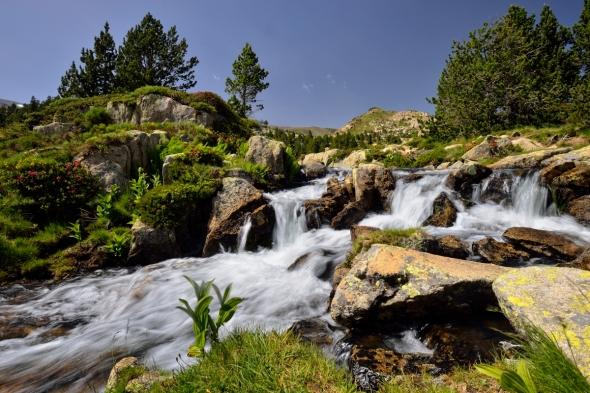 Ruisseau étangs du Carlit